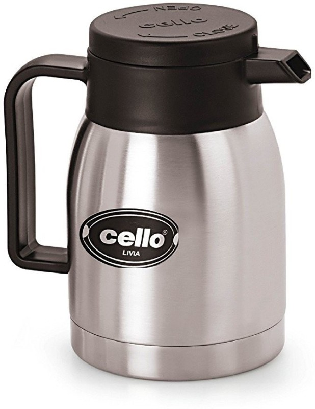 Cello Livia 350 ml Flask(Pack of 1, Grey)