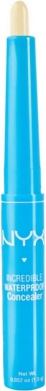 Nyx Incredible Waterproof Concealer(Yellow)