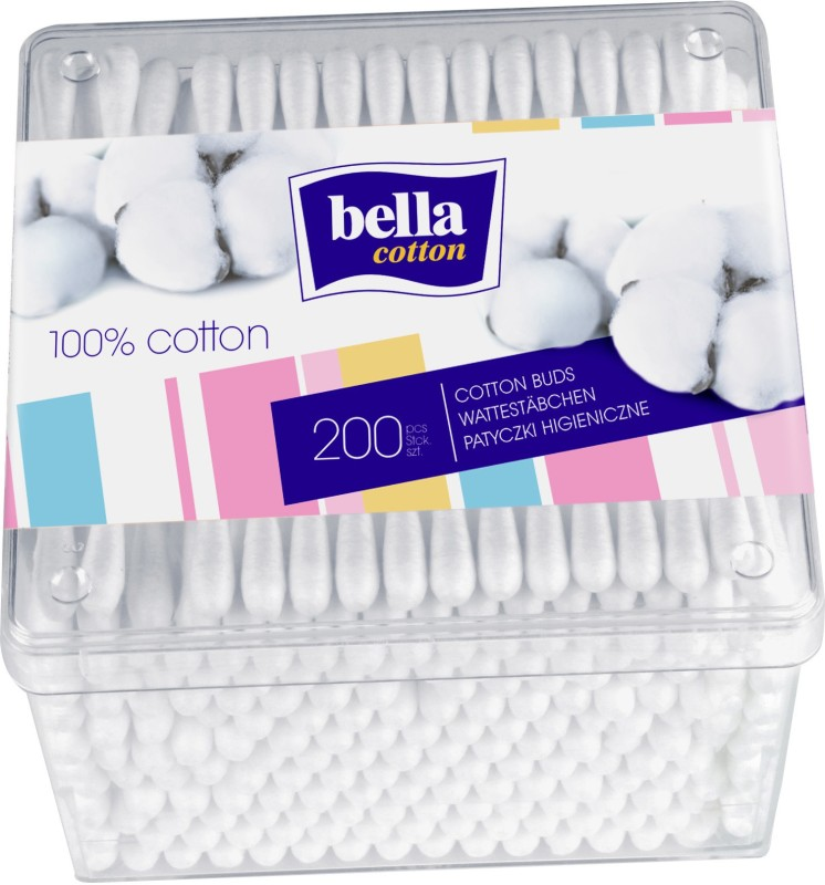 Bella Cotton Buds A200(Pack of 200)