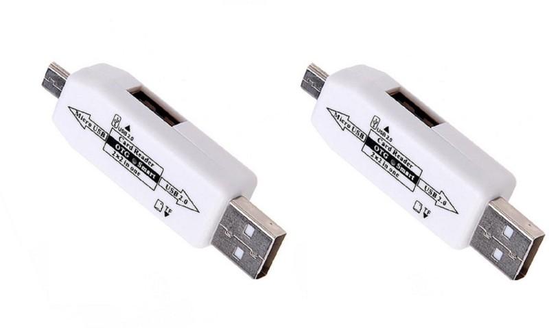 kaykon Micro USB OTG Adapter(Pack of 2)