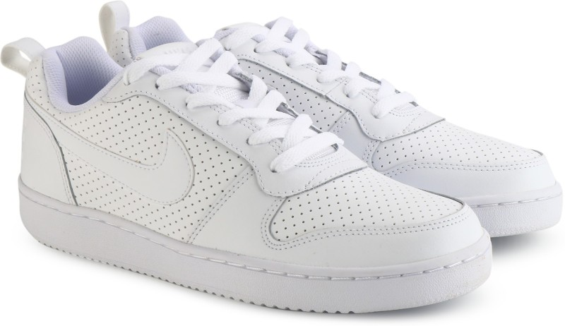Nike Court Borough Low Sneakers For Men(White)