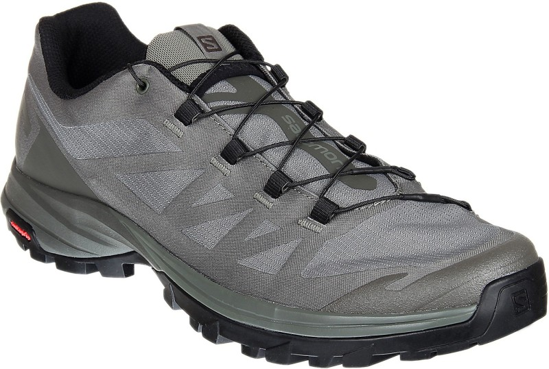 Salomon OUTpath Fast Hiking & Trekking Shoes For Men(Grey)
