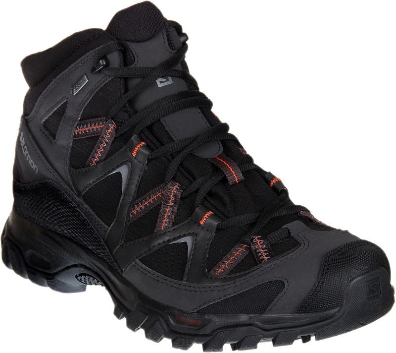 Salomon Men's Cagliari Waterproof Boots For Men(Black, Red)