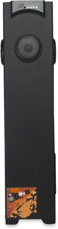 CallStar BoomBox Floor Standing Tower Speaker with 5.25inch Woofer 2.5Feet Height 60 Bluetooth Home Audio Speaker(Black, Stereo Channel)