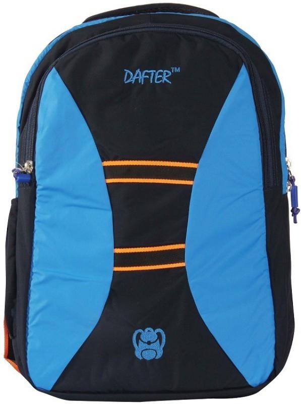 dafter Polyester 1.5 L Laptop Backpack(Blue, Black)