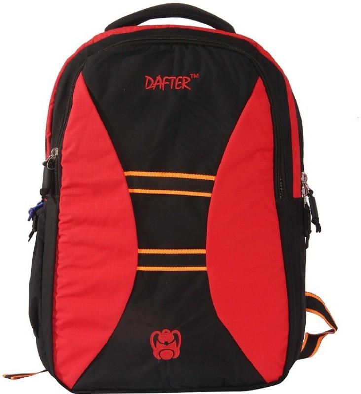 dafter Polyester 1.5 L Laptop Backpack(Black)