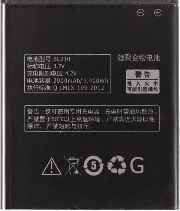 Amnicor Battery - Lenovo S820 A536 BL210(Black)