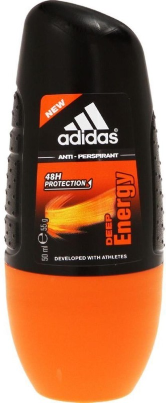 ADIDAS Anti-Perspirant, Deep Energy Roll-on - 50ml Deodorant Roll-on - For Men & Women(50 ml)