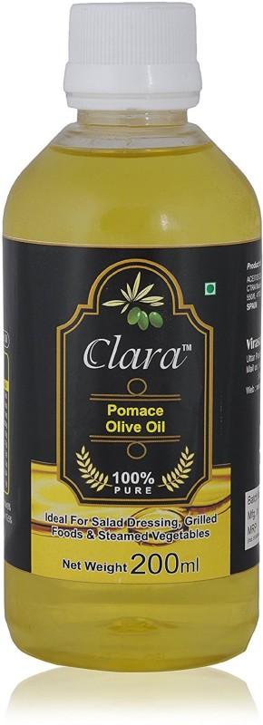 Clara Olive Extra Virgin Oil Pomace Olive Oil 200 Ml Olive Oil Plastic Bottle(200 ml)