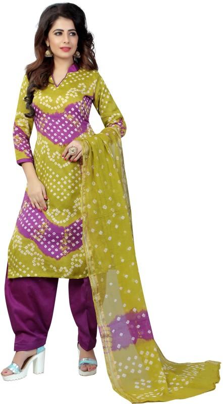 Dealsure Printed Kurta & Salwar(Stitched)