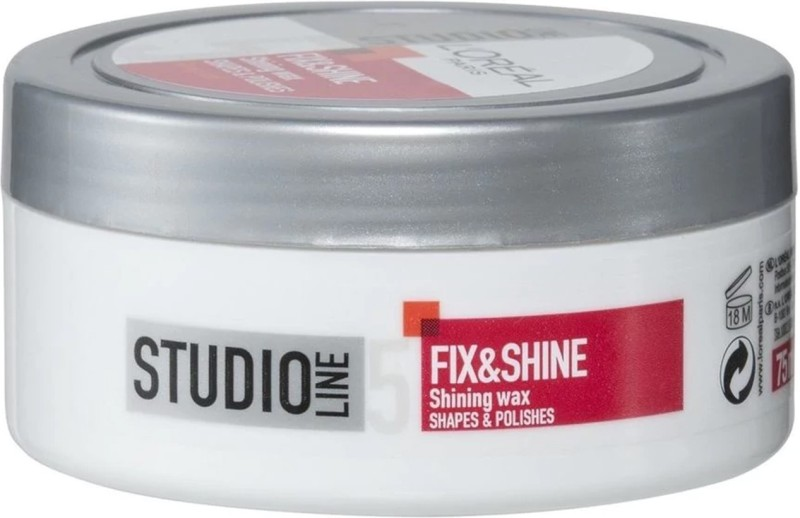 L'Oreal Paris Studio Line 5 Fix & Shine Shining Wax - 75ml Hair Styler