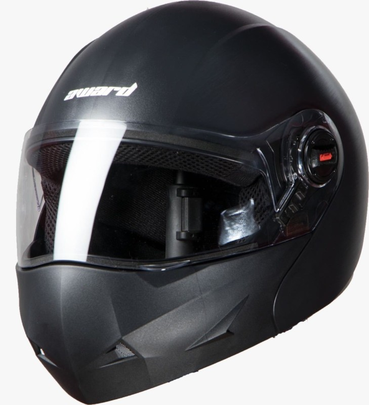 Steelbird RK Helmet Flip up Black L Award Motorbike Helmet(Black)