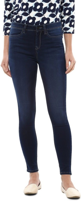 Allen Solly Regular Women Blue Jeans