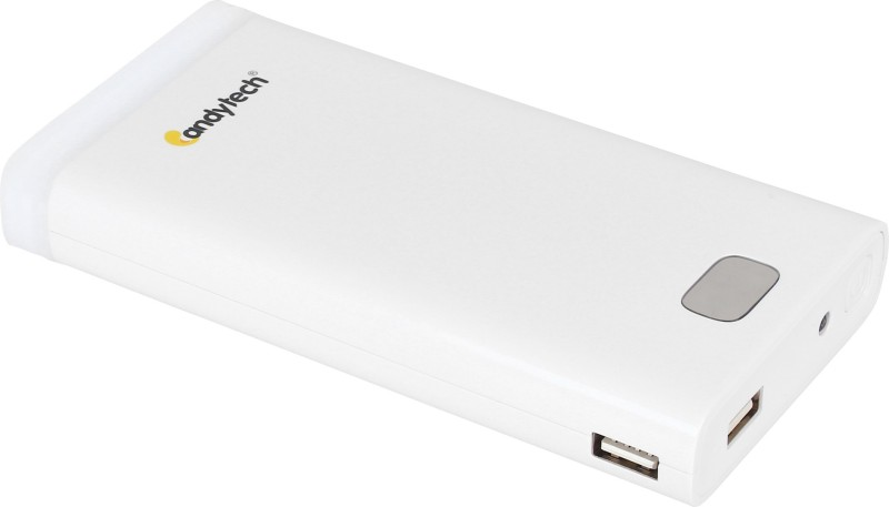 Candytech 14400 mAh Power Bank (CT-144, Fast Charging 14400mah)(White, Lithium-ion)