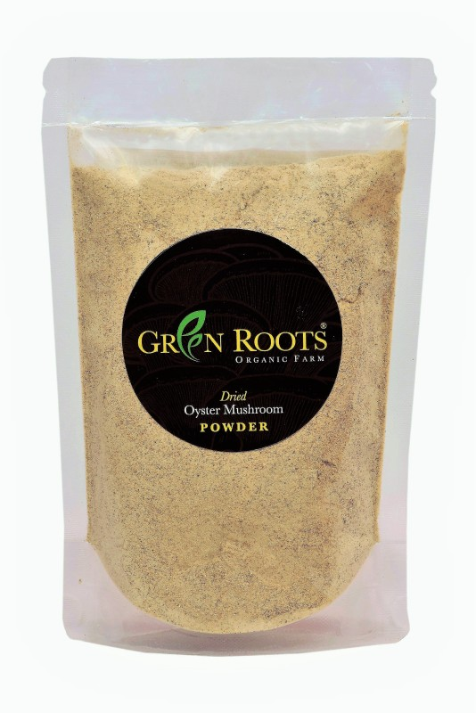 GreenRoots Dried Mushroom Powder 100gms 100 g