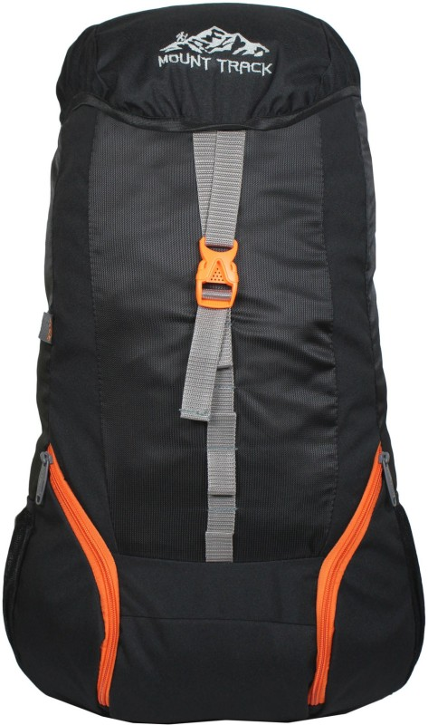 Mount Track 9101 B5 Summit 35 Ltrs Rucksack, Hiking & Trekking Backpack Rucksack - 30 L(Black)