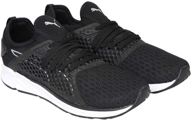 Puma IGNITE 4 NETFIT Running Shoes For Men(Black)