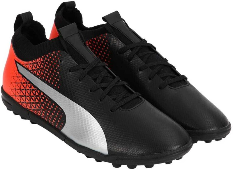Puma evoKNIT FTB TT Football Shoes For Men(Black)