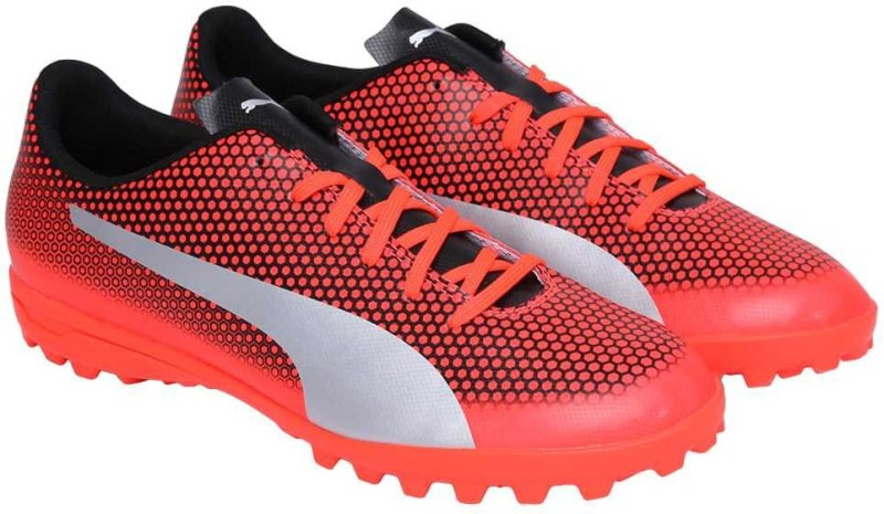 Puma PUMA Spirit TT Football Shoes For Men(Red)
