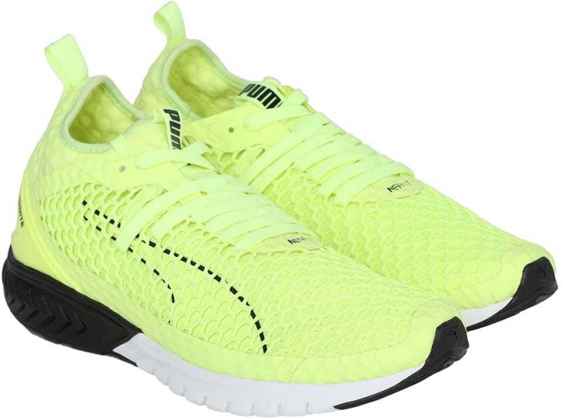 Puma IGNITE Dual NETFIT Running Shoes For Men(Yellow)