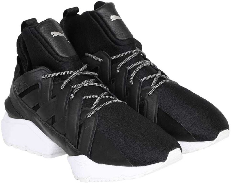 Puma Muse Echo Satin EP Wn s Casuals For Women(Black)