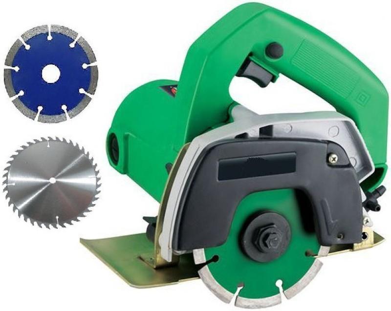 Hiken Heavy Duty Marble/wood Cutter Machine Handheld Tile Cutter(1100 W)