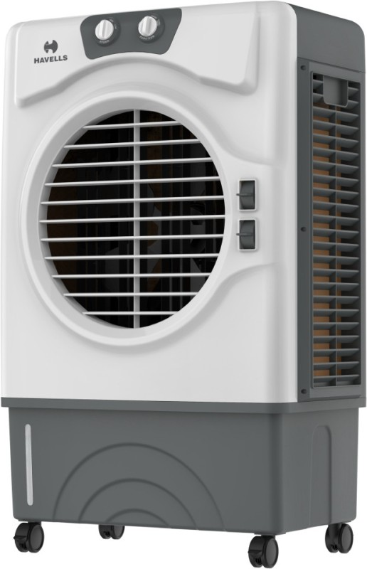 Havells Koolaire W Desert Air Cooler(White, Brown, 51 Litres)