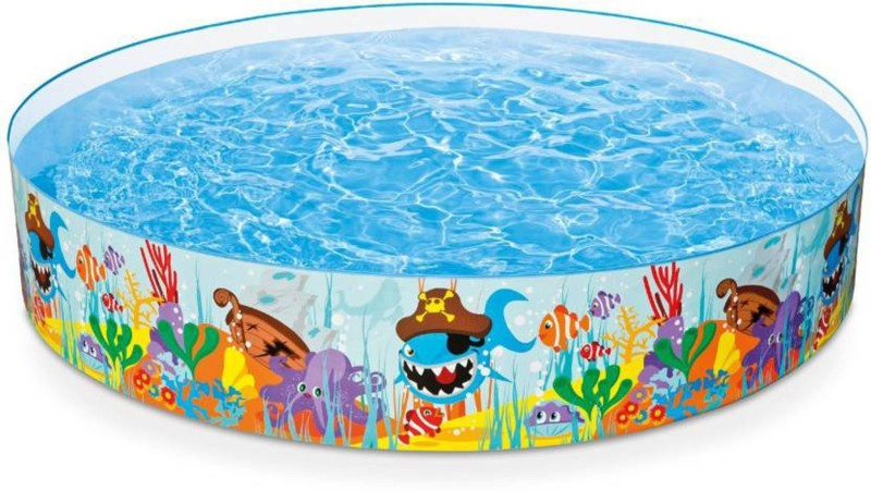 P17 collection 4 Feet Kids Water Pool Bath Tub Swimming Pool Bath Toy(Multicolor)
