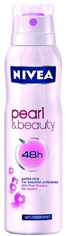 Nivea Pearl Body Spray - For Women(150 ml)