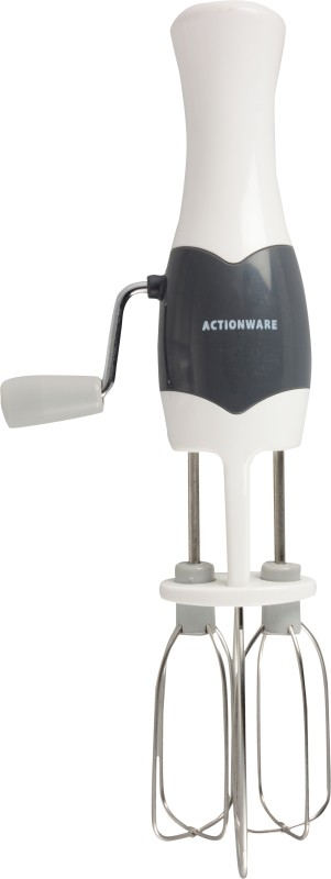 Actionware hh-action-113-handbeater-wht-2 Plastic Hand Juicer(White Pack of 2)