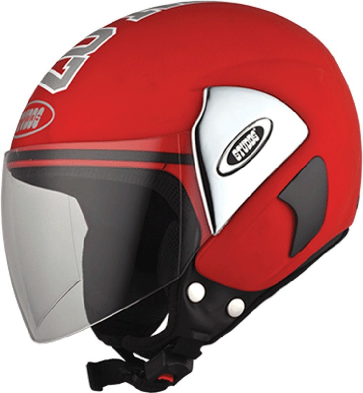 Studds CUB07(RED) Motorbike Helmet(Red)