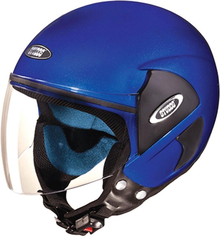 Studds CUB(FLAMEBLUE) Motorbike Helmet(Blue)