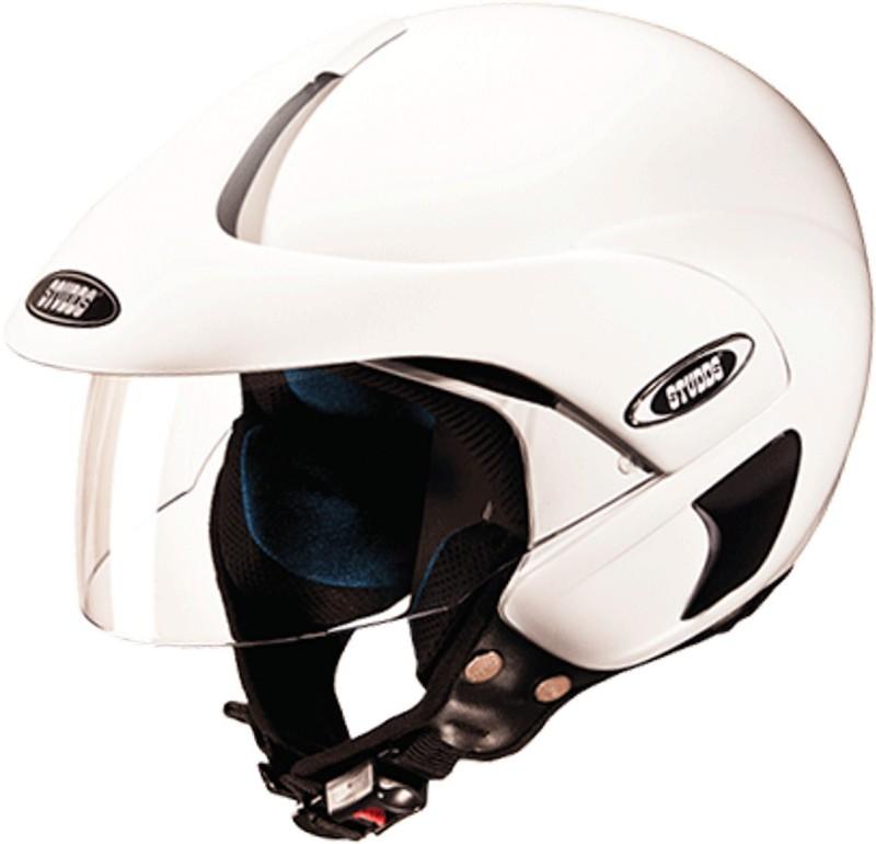 Studds MARSHAL(WHITE) Motorbike Helmet(White)