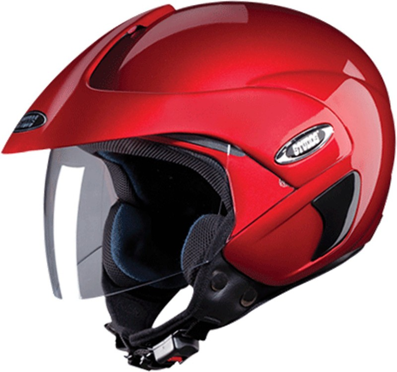 Studds MARSHAL(CHERRYRED) Motorbike Helmet(Red)