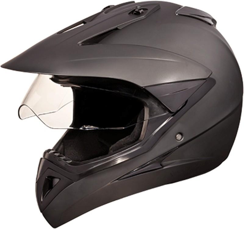 Studds MOTOCROSS(MATTBLACK) Motorbike Helmet(Black)