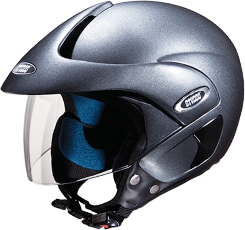 Studds MARSHAL(GUNGREY) Motorbike Helmet(Grey)