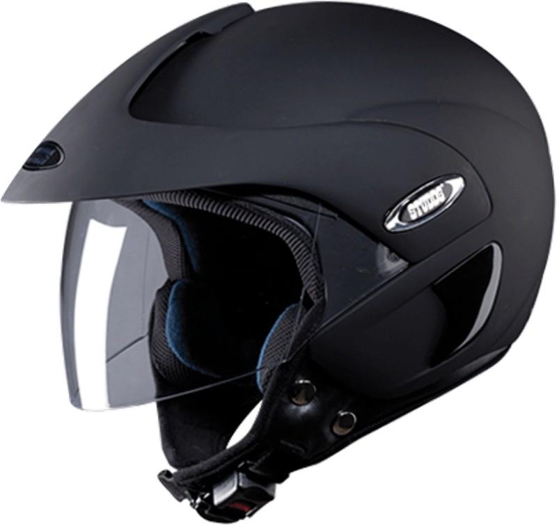 Studds MARSHAL(MATTBLACK) Motorbike Helmet(Black)
