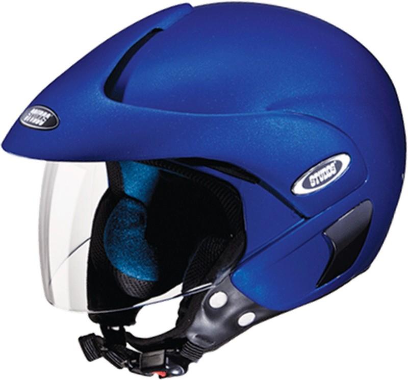 Studds MARSHAL(FLAMEBLUE) Motorbike Helmet(Blue)