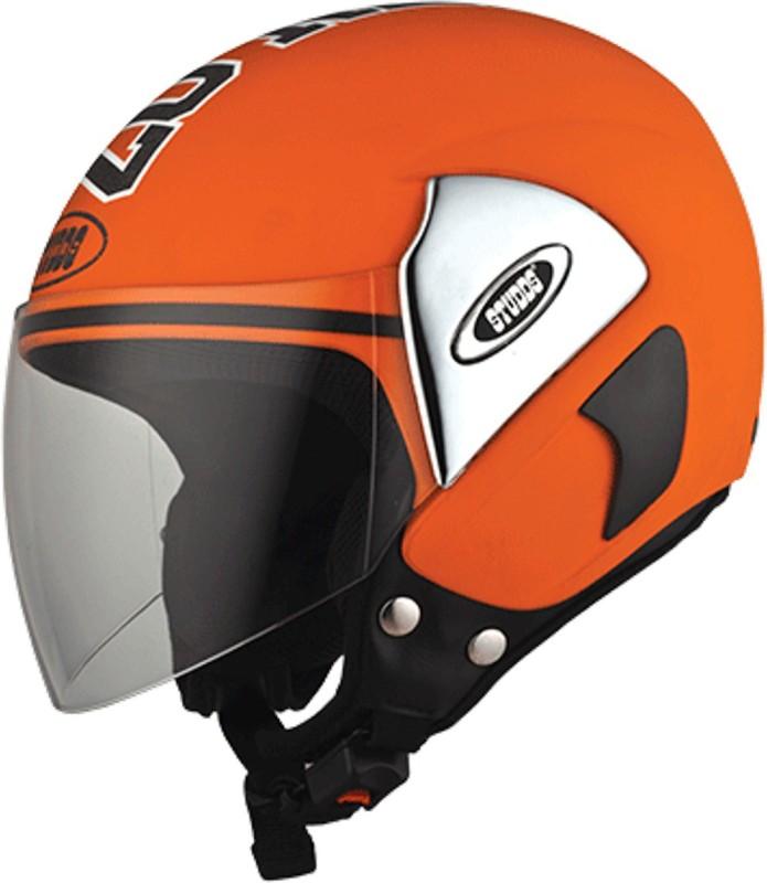 Studds CUB07(ORANGE) Motorbike Helmet(Orange)