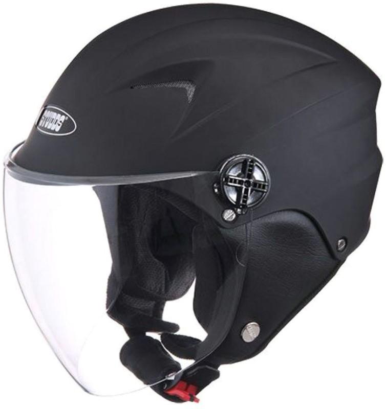 Studds DUDE(BLACK) Motorbike Helmet(Black)