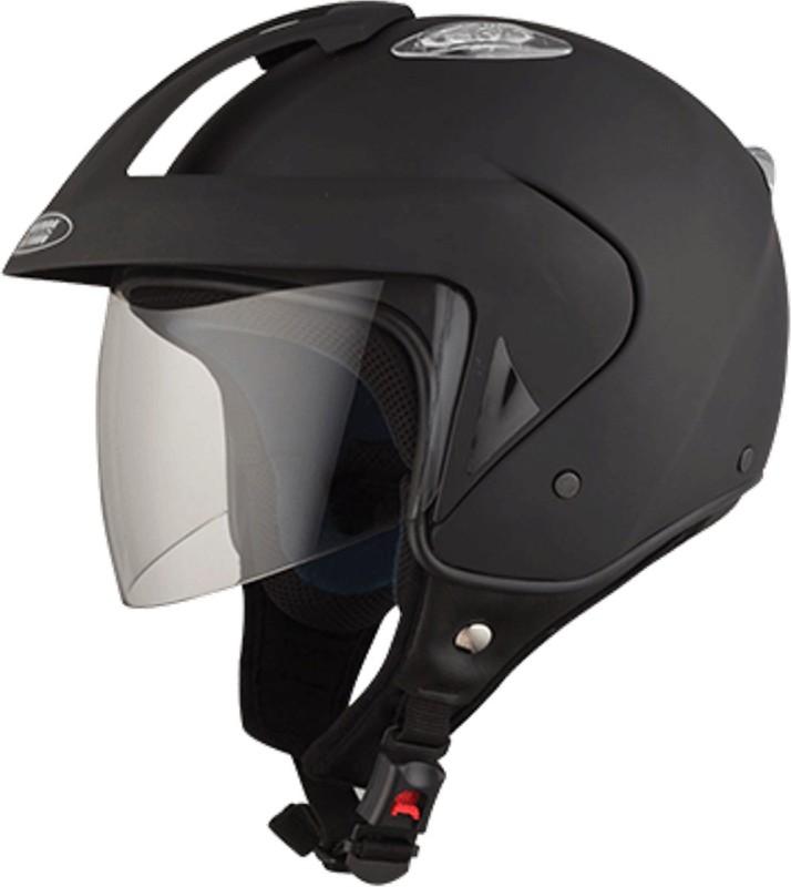 Studds KS1METRO(MATTBLACK) Motorbike Helmet(Black)