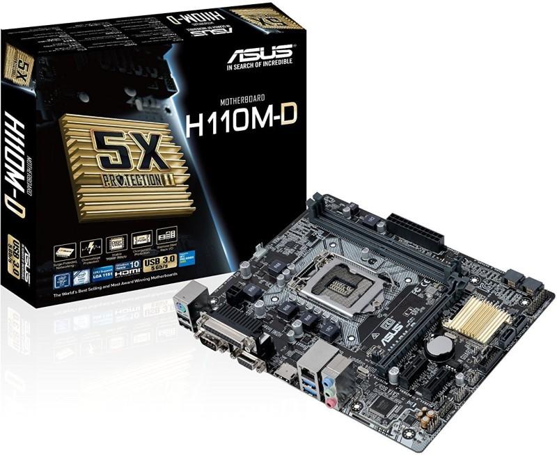 Asus H110M-D Motherboard