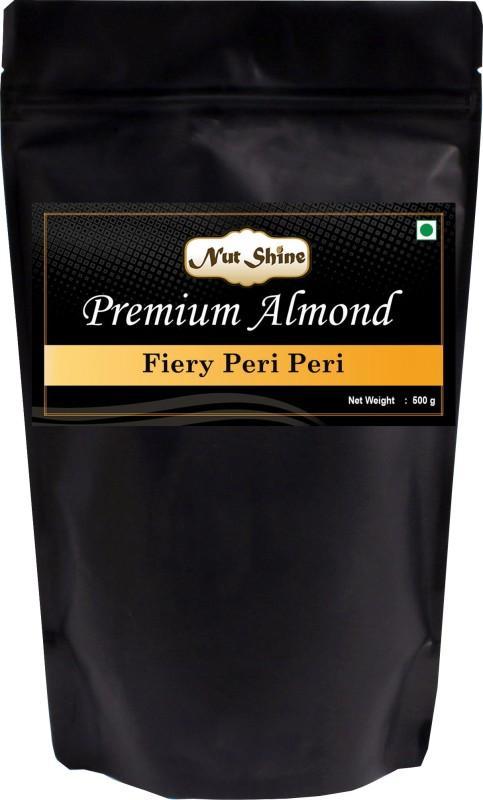 Nut Shine Fiery Peri Peri (500 Gm) Almonds(500 g)