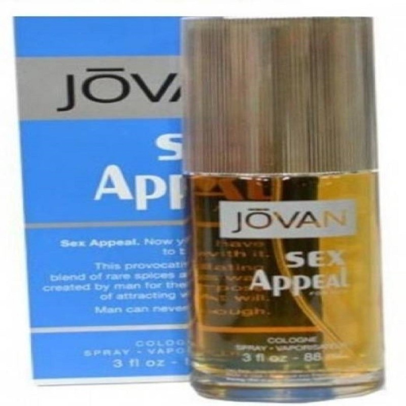 Jovan Sex Appeal EDT - 88 ml Eau de Cologne - 88 ml(For Men)