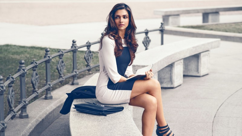 Deepika Padukone Actresses India Woman Brunette Indian Actress Bollywood HD Wall Poster...