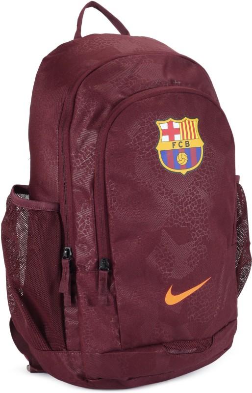 Nike NK Stadium FCB - AOP 23 L Backpack(Maroon)