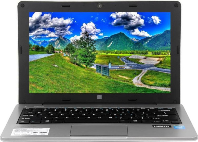 Micromax Atom Quad Core - (2 GB/32 GB EMMC Storage/Windows 10 Home) Canvas Lapbook Laptop(11.6 inch, SIlver) image