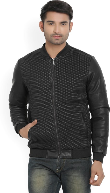 Arrow New York Full Sleeve Solid Mens Jacket