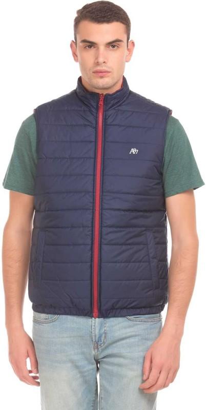 Aeropostale Sleeveless Solid Men Jacket