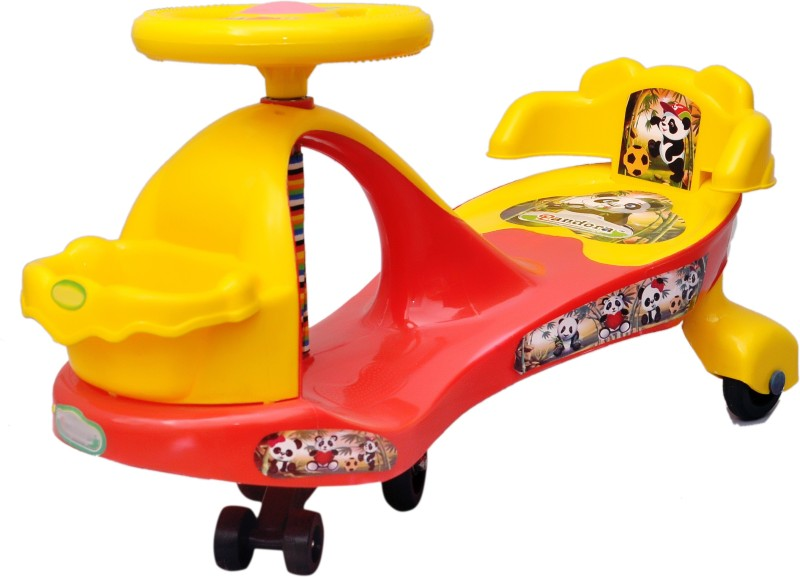 Toyshine Pandora magic car for kids in [RED-YELLOW](Red, Yellow)